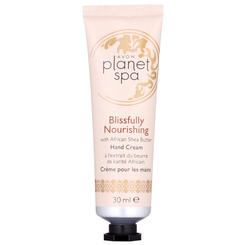 Avon planet spa blissfully nourishing with ginger hand for Plante salon