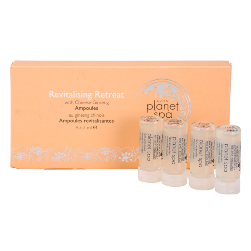 Avon planet spa chinese ginseng revitalizing facial for Plante salon