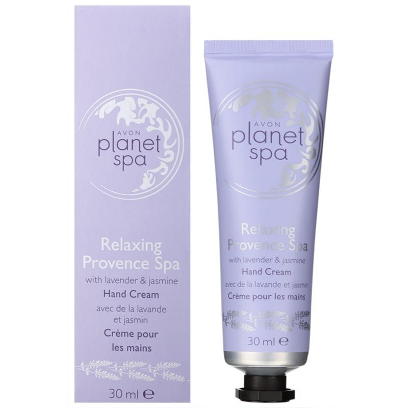 Avon planet spa provence lavender moisturising hand cream for Plante salon