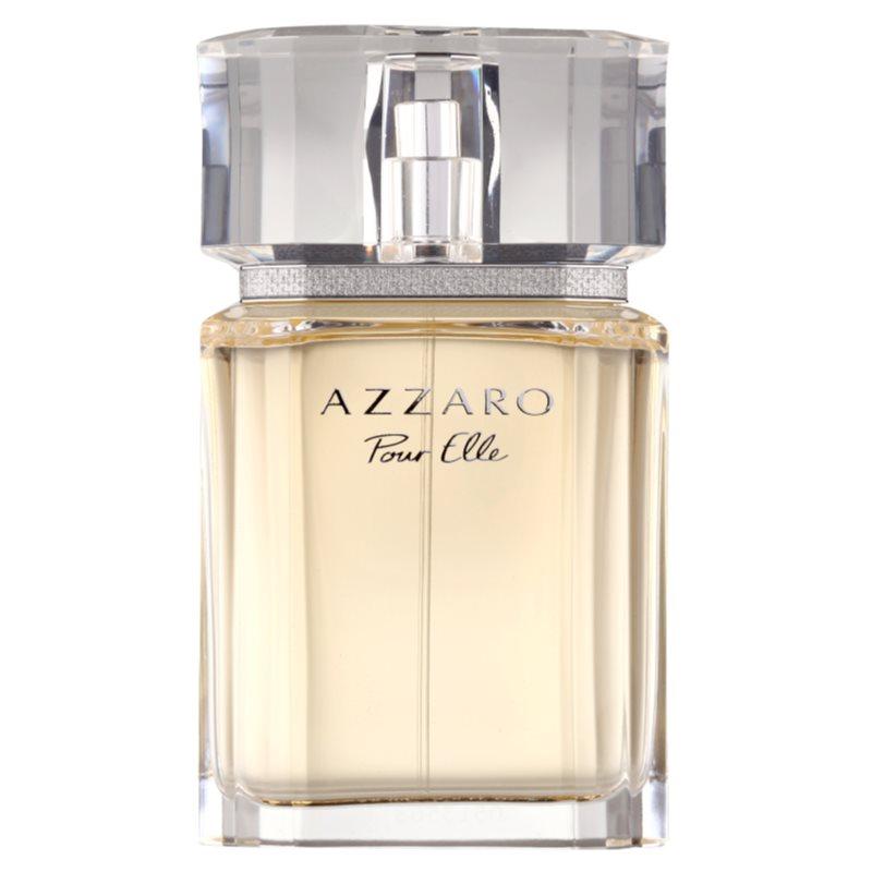 azzaro pour elle eau de parfum pour femme 75 ml rechargeable. Black Bedroom Furniture Sets. Home Design Ideas
