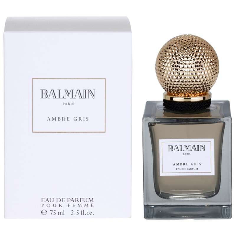 balmain ambre gris eau de parfum pour femme 75 ml. Black Bedroom Furniture Sets. Home Design Ideas