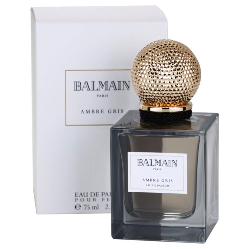 balmain ambre gris eau de parfum pour femme 75 ml notinofr