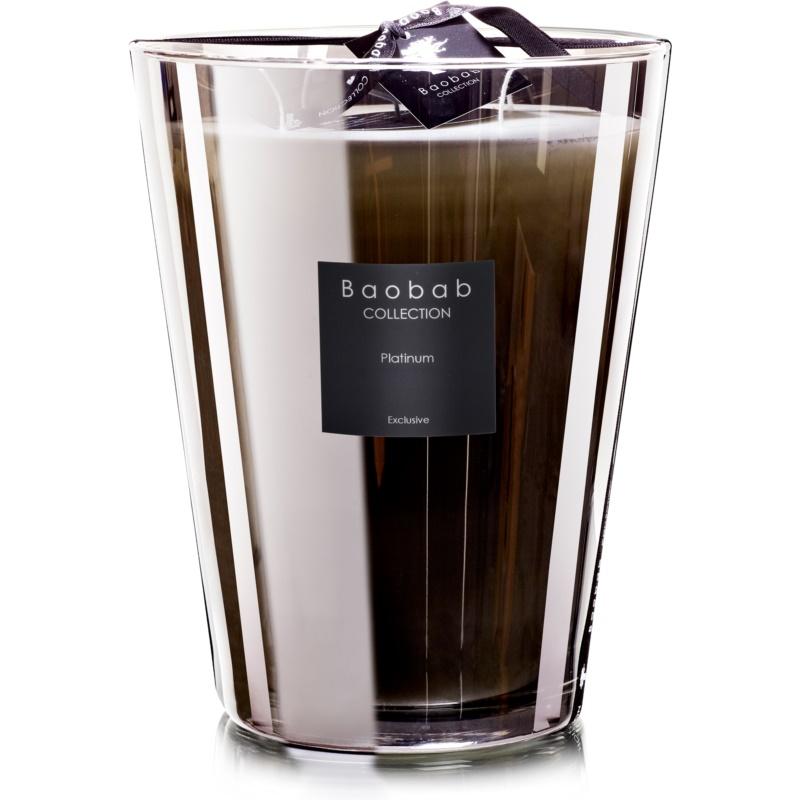baobab les exclusives platinum bougie parfum e 35 cm. Black Bedroom Furniture Sets. Home Design Ideas