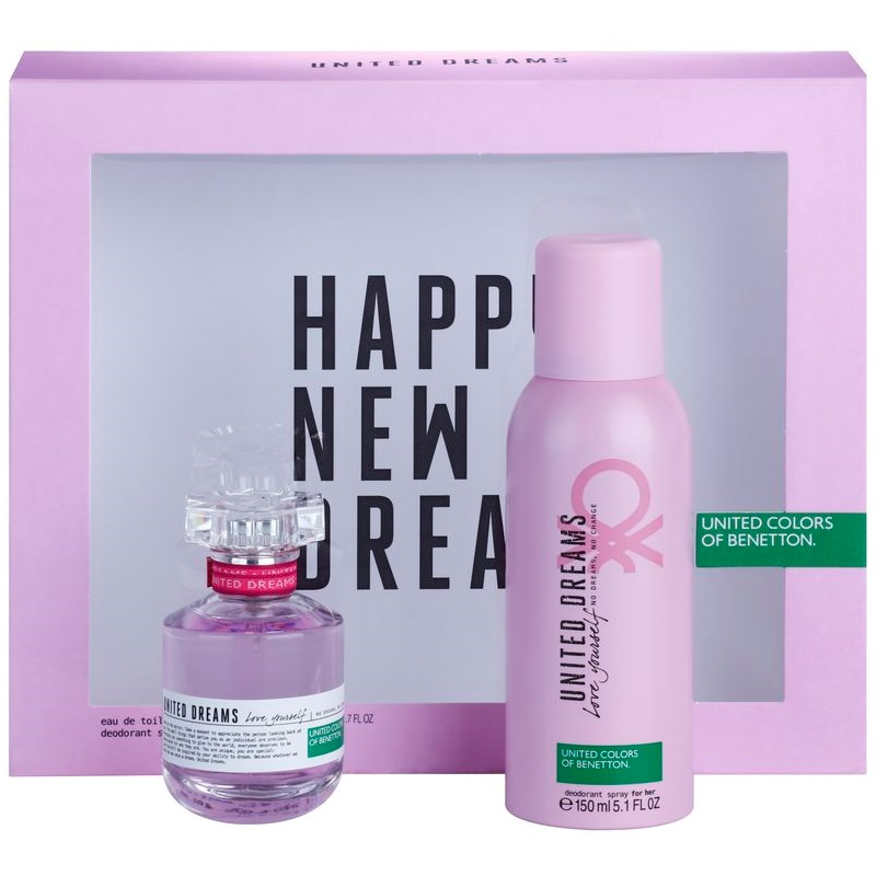 Benetton united dreams love yourself set cadou i for Benetton united dreams love yourself