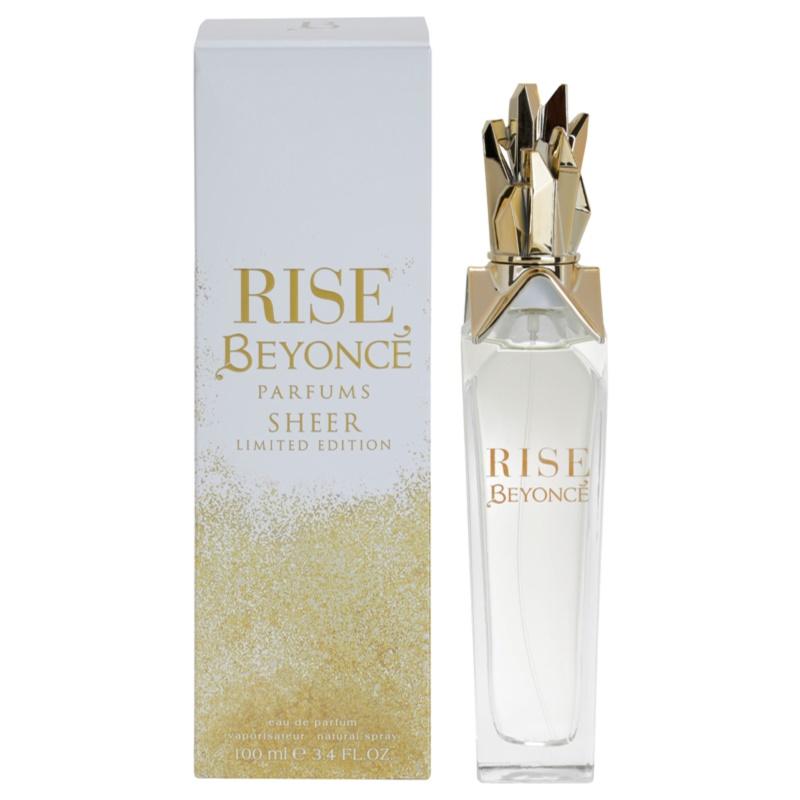 Beyoncé Rise Sheer Limited Edition Eau De Parfum Pour Femme 100 Ml