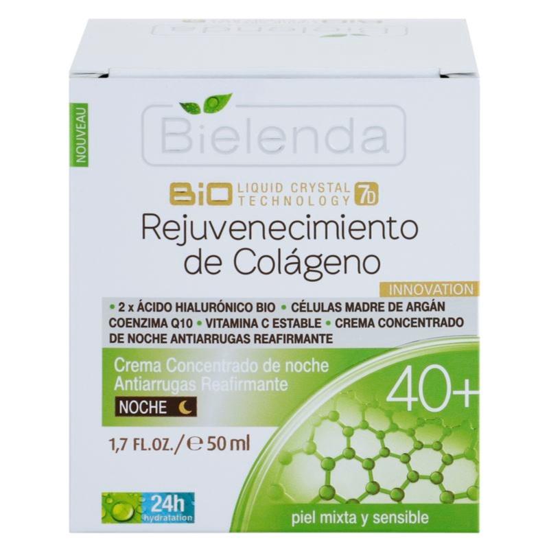 bielenda biotech 7d collagen rejuvenation 40 cr me de nuit intense pour raffermir le visage. Black Bedroom Furniture Sets. Home Design Ideas