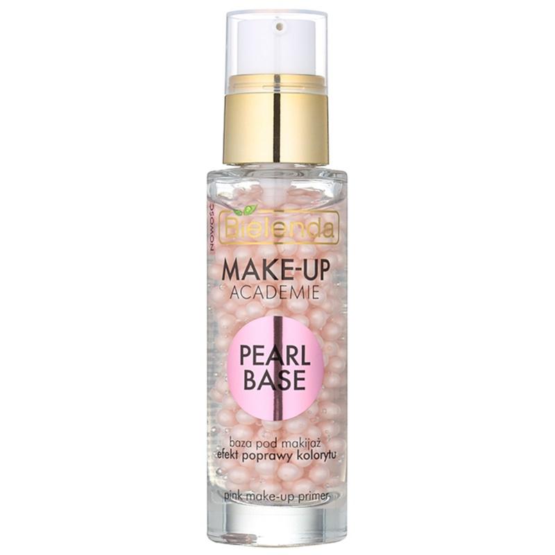 bielenda make up academie pearl base pink makeup primer for healthy look. Black Bedroom Furniture Sets. Home Design Ideas