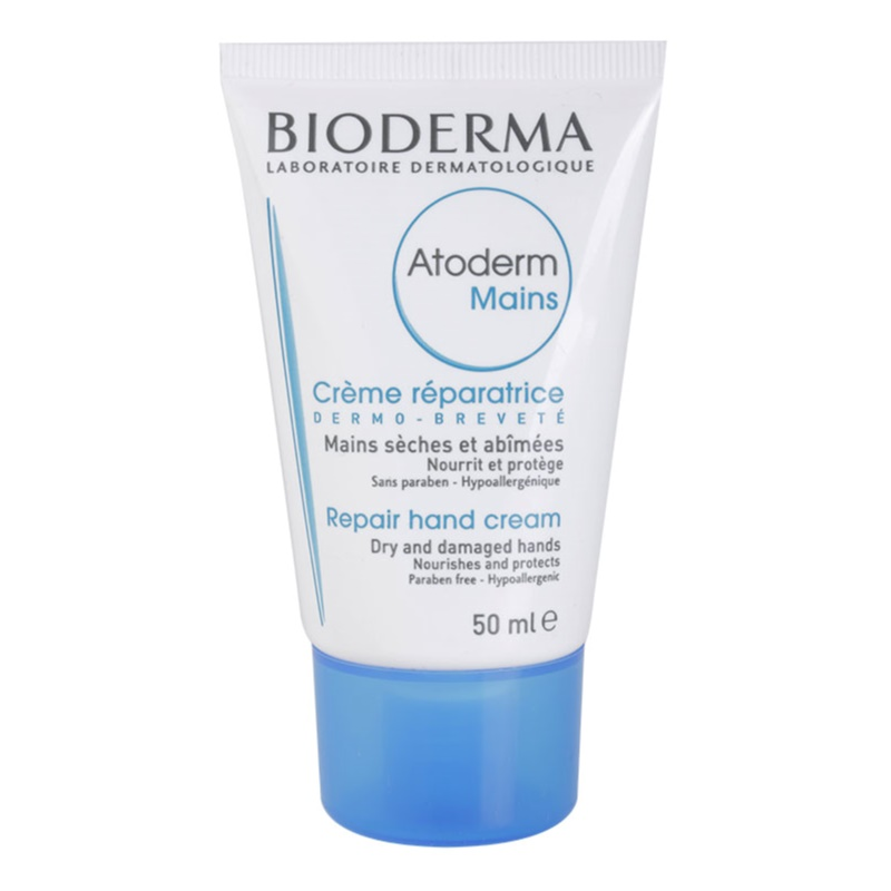 bioderma atoderm cr me mains pour peaux tr s s ches et atopiques. Black Bedroom Furniture Sets. Home Design Ideas