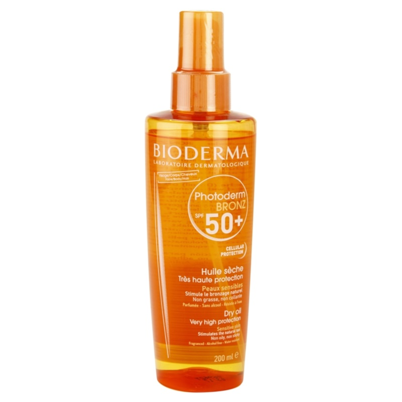bioderma photoderm bronz huile s che solaire spf 50. Black Bedroom Furniture Sets. Home Design Ideas