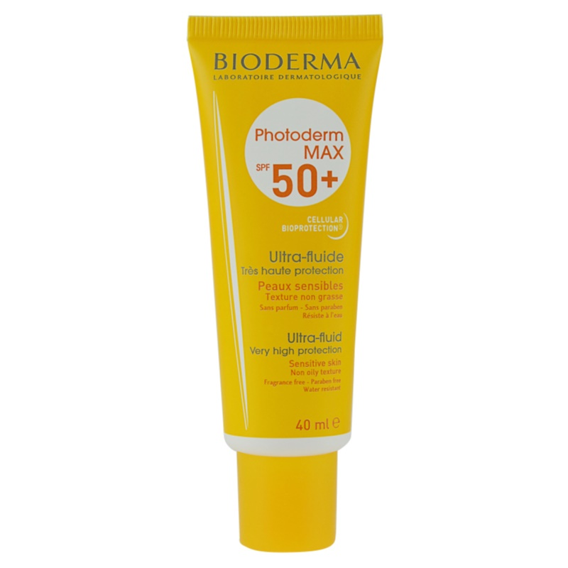 bioderma photoderm max fluid do opalania twarzy spf 50. Black Bedroom Furniture Sets. Home Design Ideas