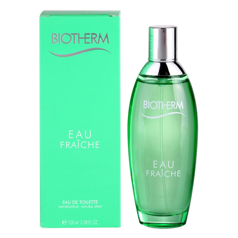 biotherm eau fra che eau de toilette pour femme 100 ml. Black Bedroom Furniture Sets. Home Design Ideas