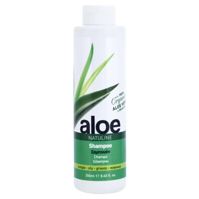 bodyfarm natuline aloe shampoo f r fettige haare mit aloe vera. Black Bedroom Furniture Sets. Home Design Ideas