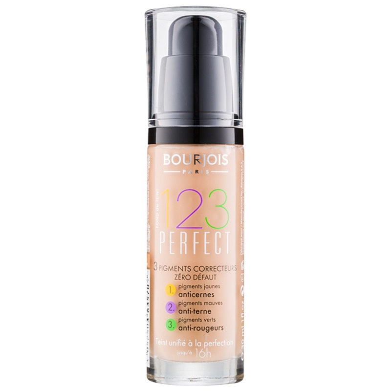 bourjois 123 perfect liquid foundation for perfect look. Black Bedroom Furniture Sets. Home Design Ideas