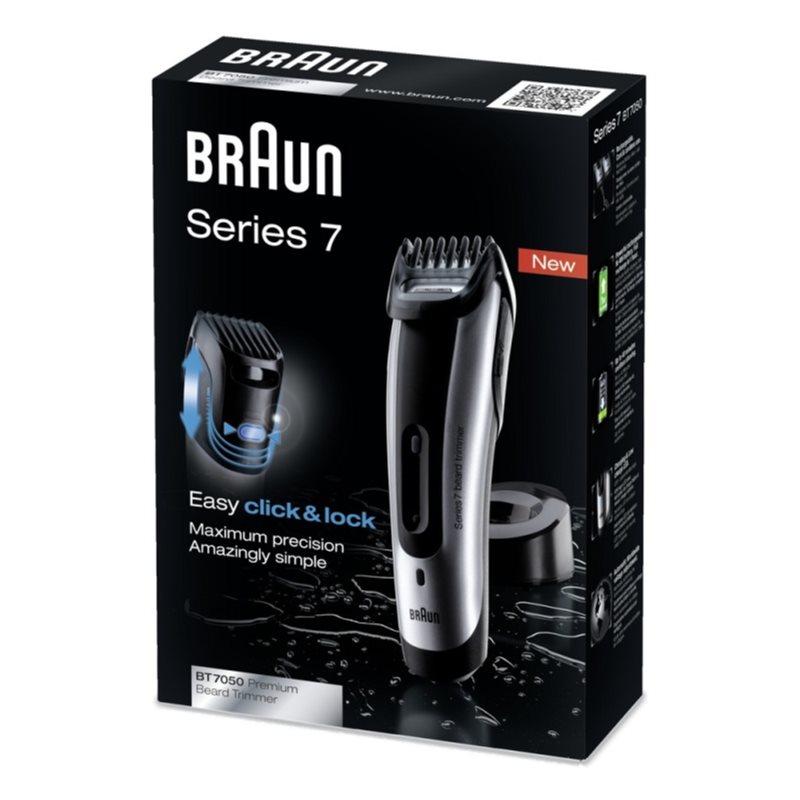 braun series 7 bt7050 hair and beard clipper. Black Bedroom Furniture Sets. Home Design Ideas