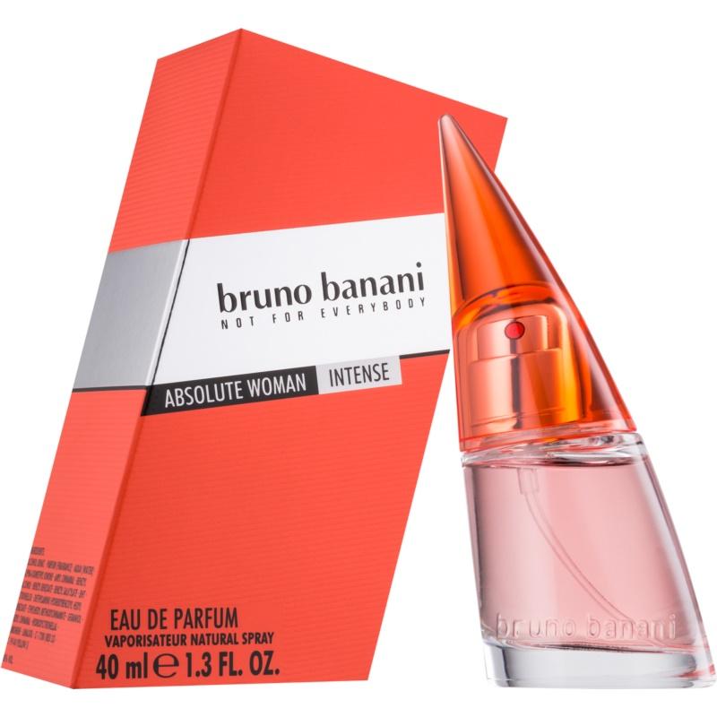 bruno banani absolute woman intense eau de parfum n knek 40 ml. Black Bedroom Furniture Sets. Home Design Ideas