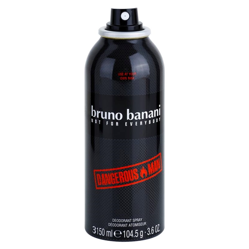 bruno banani dangerous man deo sprej za mo ke 150 ml. Black Bedroom Furniture Sets. Home Design Ideas