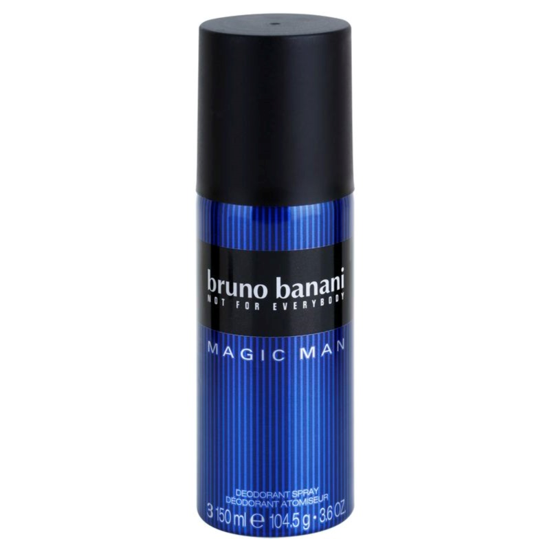bruno banani magic man deo spray for men 150 ml notino. Black Bedroom Furniture Sets. Home Design Ideas
