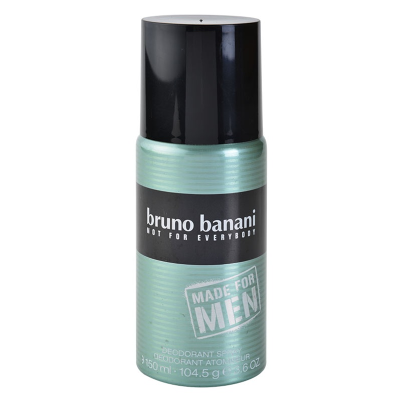 bruno banani made for men deo spray voor mannen 150 ml. Black Bedroom Furniture Sets. Home Design Ideas