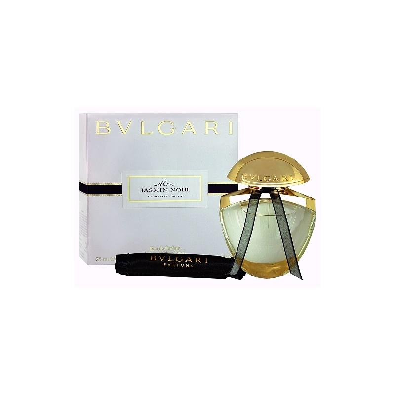 Bvlgari Mon Jasmin Noir, eau de parfum pour femme 25 ml + sachet en ... 076e88ed13d
