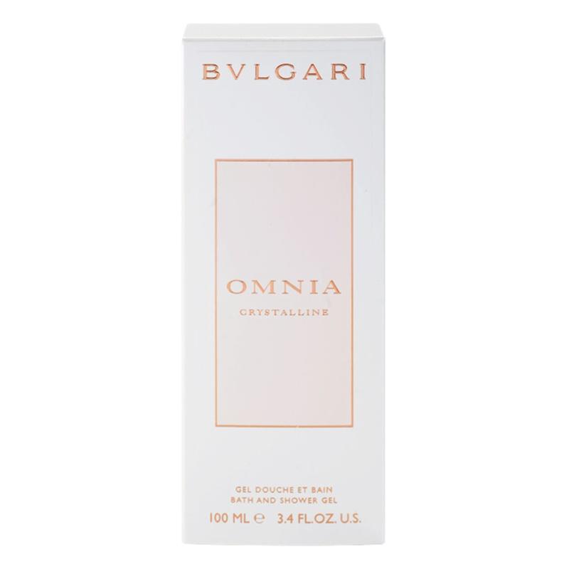 bvlgari omnia crystalline shower gel for women 100 ml. Black Bedroom Furniture Sets. Home Design Ideas