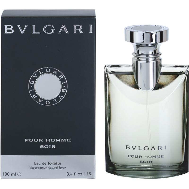 bvlgari pour homme soir eau de toilette for men 100 ml. Black Bedroom Furniture Sets. Home Design Ideas