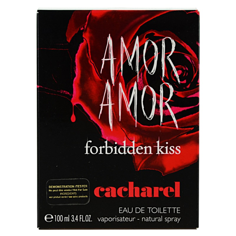 58529d4fe Cacharel Amor Amor Forbidden Kiss Eau de Toilette tester for Women 100 ml. Eau  de Toilette tester for Women 100 ml