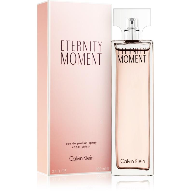 calvin klein eternity moment eau de parfum f r damen 100. Black Bedroom Furniture Sets. Home Design Ideas