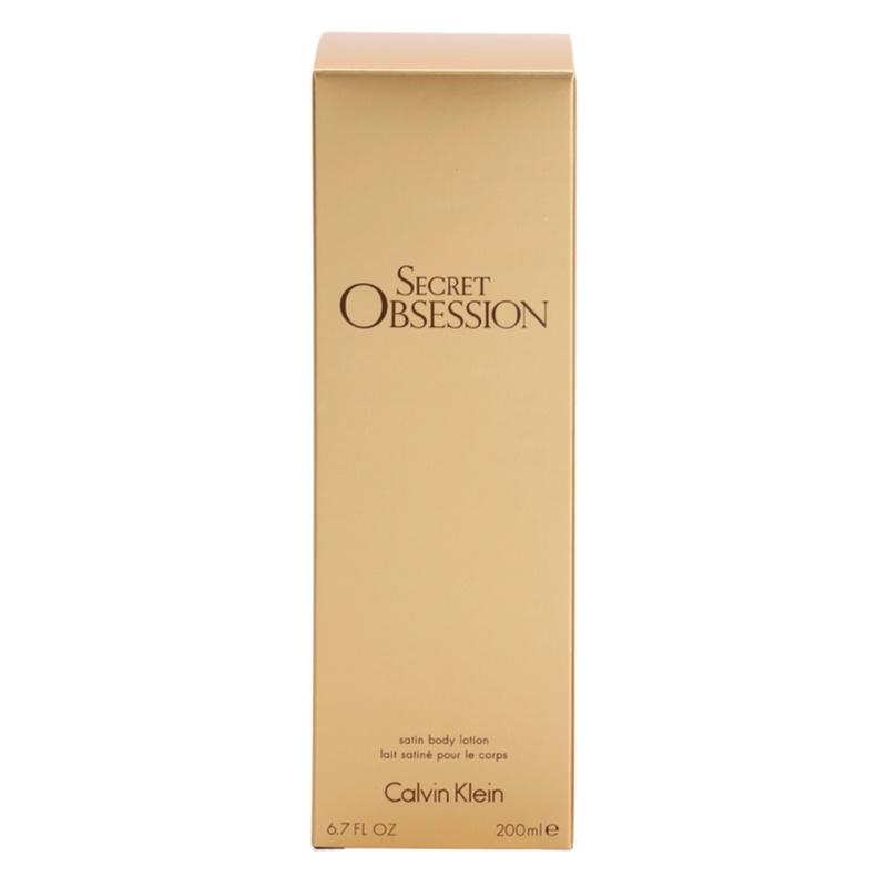 calvin klein secret obsession  body lotion for women 200