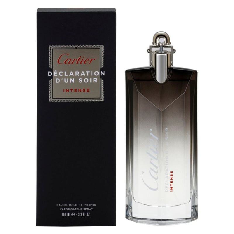 cartier declaration d 39 un soir intense eau de toilette para hombre 100 ml. Black Bedroom Furniture Sets. Home Design Ideas