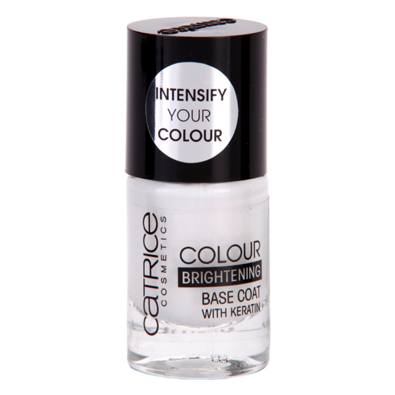Catrice Colour Brightening, Base Coat Nail Polish With Keratin ...