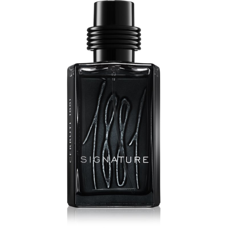 cerruti 1881 signature eau de parfum pour homme 100 ml. Black Bedroom Furniture Sets. Home Design Ideas