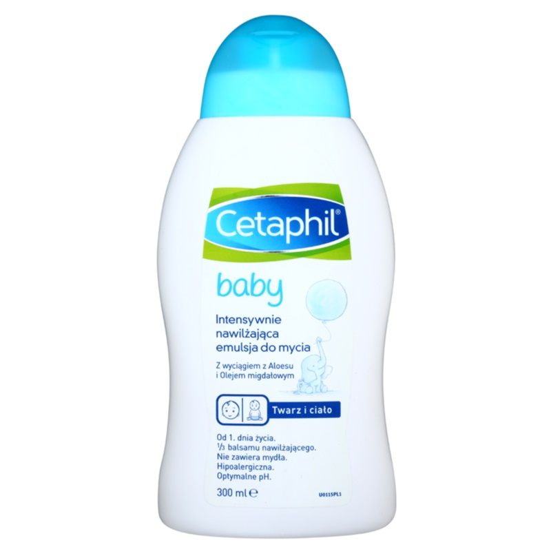 Cetaphil Baby Intensive Moisturizing Wash Lotion For