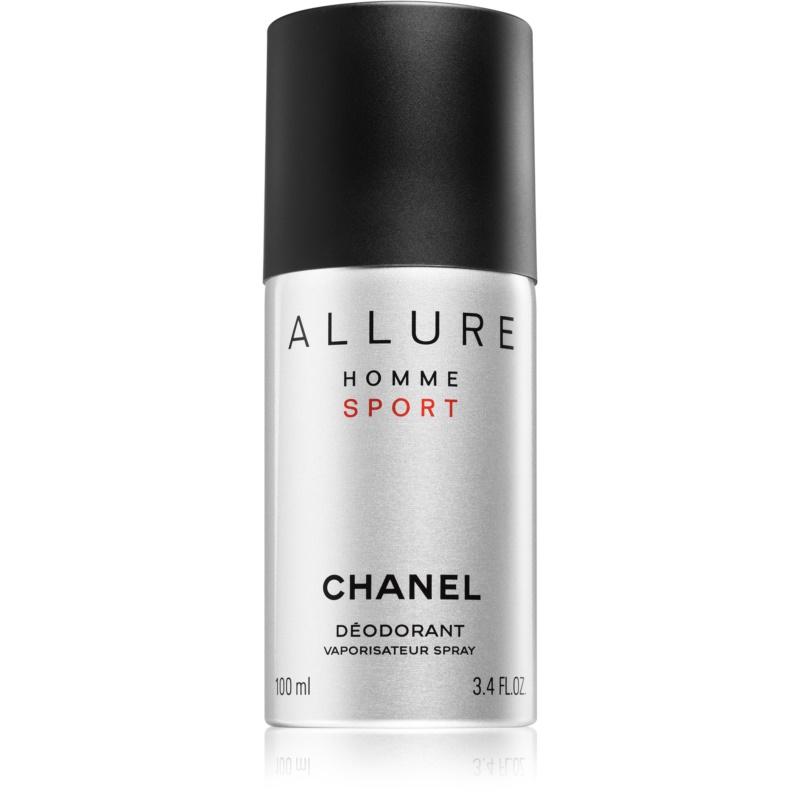 chanel allure homme sport deo spray for men 100 ml. Black Bedroom Furniture Sets. Home Design Ideas