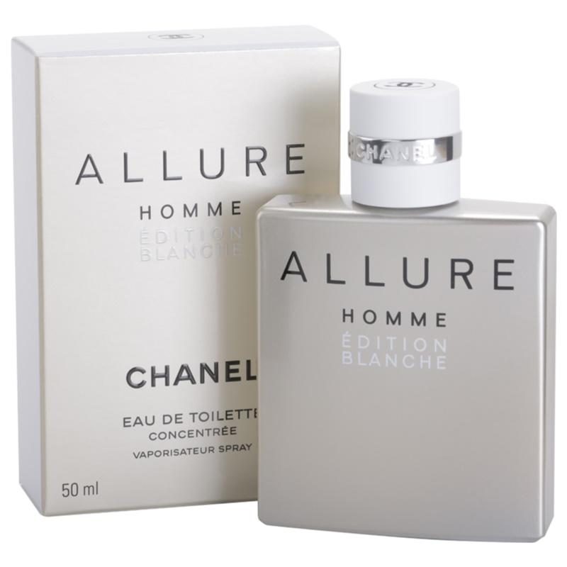 Chanel Allure Homme Édition Blanche, Eau de Toilette for Men 100 ml | notino.co.uk