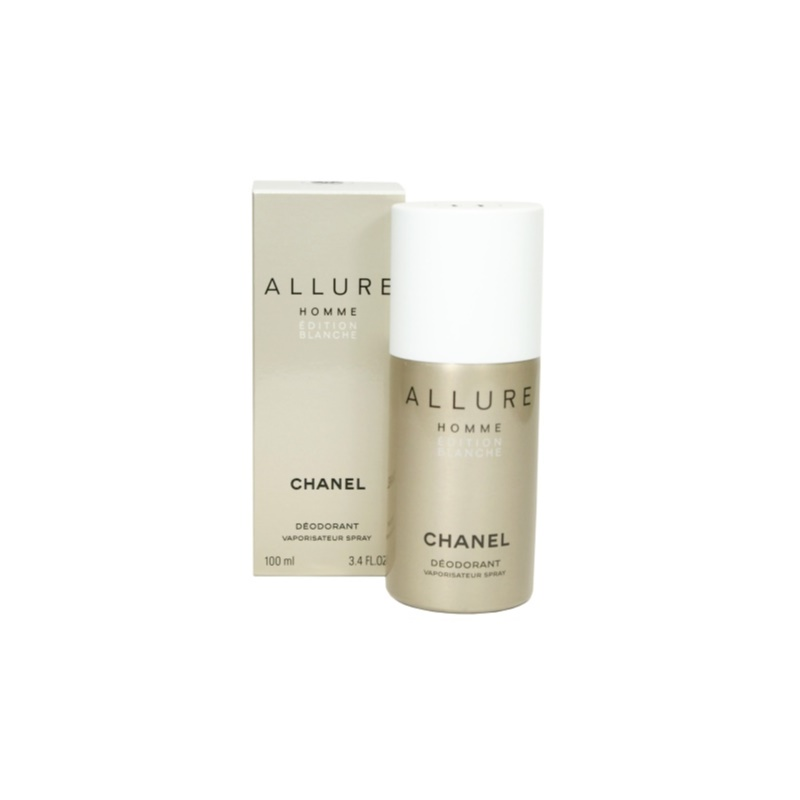 chanel allure homme dition blanche deo spray for men 100 ml. Black Bedroom Furniture Sets. Home Design Ideas