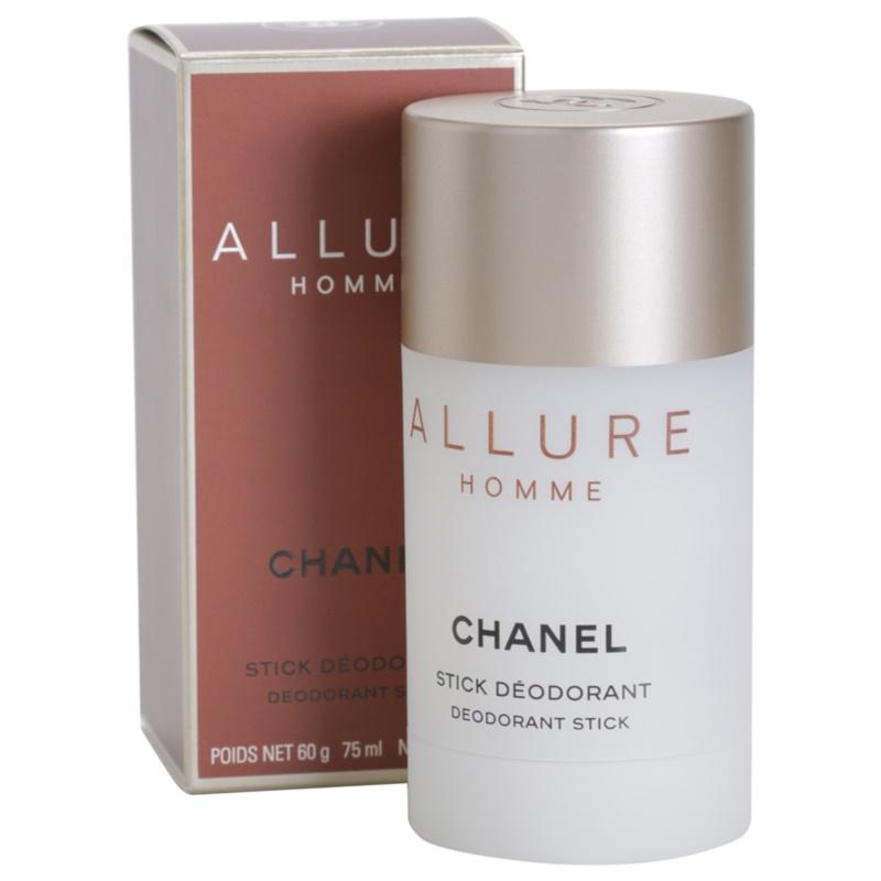 chanel allure homme deodorant stick for men 75 ml. Black Bedroom Furniture Sets. Home Design Ideas