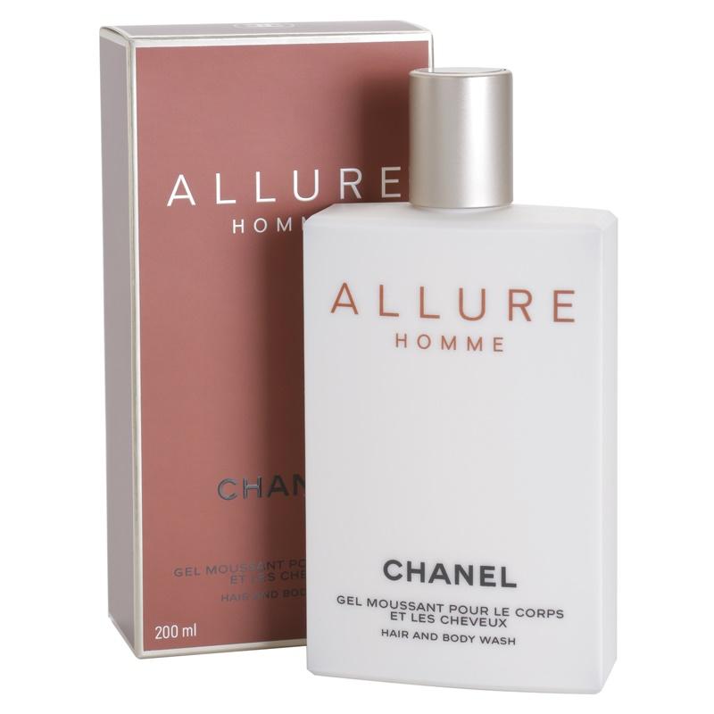chanel allure homme shower gel for men 200 ml. Black Bedroom Furniture Sets. Home Design Ideas