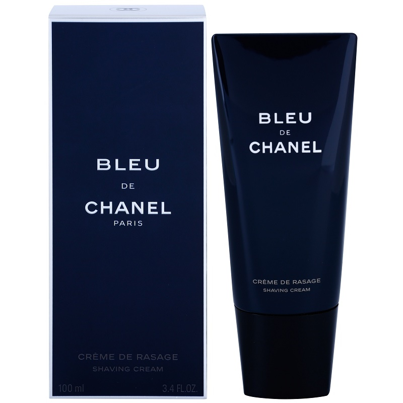 chanel bleu de chanel shaving cream for men 100 ml. Black Bedroom Furniture Sets. Home Design Ideas