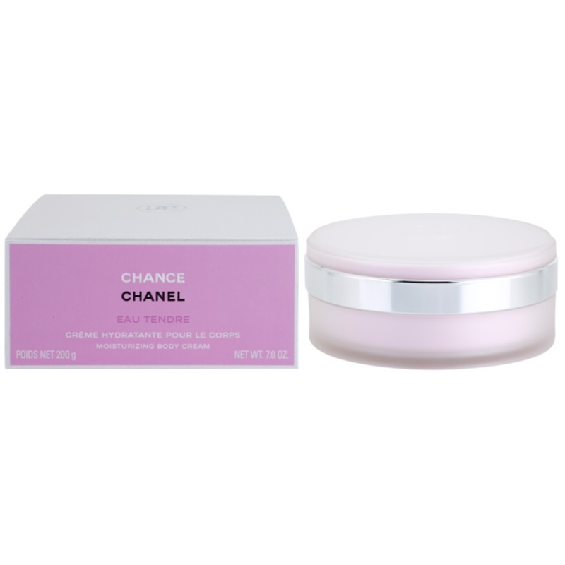 chanel chance eau tendre body cream for women 200 g. Black Bedroom Furniture Sets. Home Design Ideas