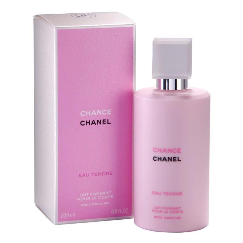 chanel chance eau tendre lait corps pour femme 200 ml. Black Bedroom Furniture Sets. Home Design Ideas
