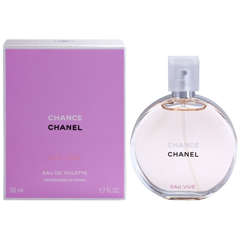 chanel chance eau vive eau de toilette f r damen 50 ml. Black Bedroom Furniture Sets. Home Design Ideas