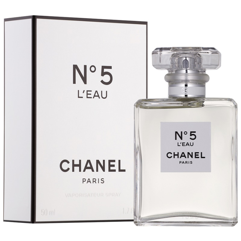 chanel no 5 l eau eau de toilette for women 50 ml. Black Bedroom Furniture Sets. Home Design Ideas
