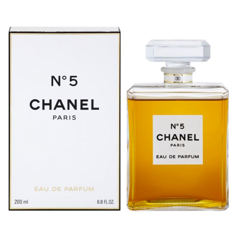 chanel no 5 eau de parfum for women 200 ml without. Black Bedroom Furniture Sets. Home Design Ideas