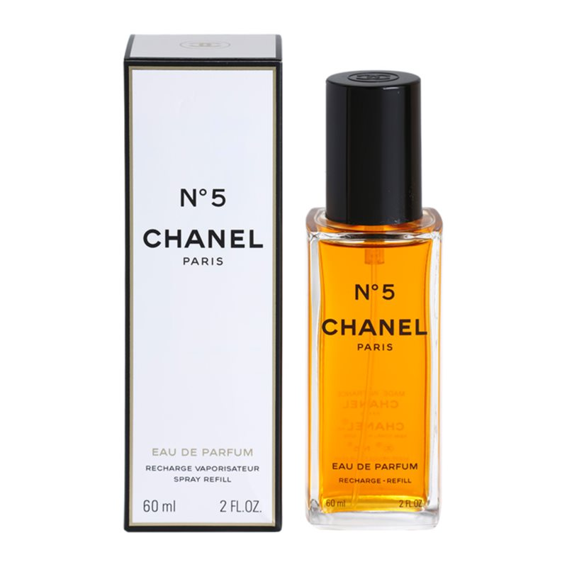 chanel n 5 eau de parfum pour femme 60 ml recharge avec. Black Bedroom Furniture Sets. Home Design Ideas