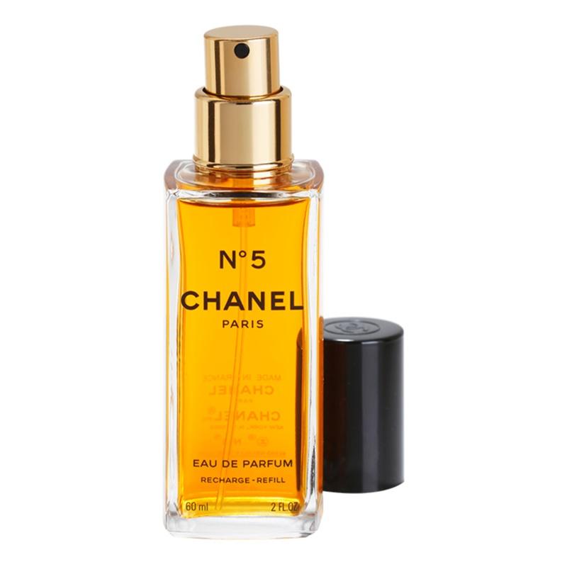chanel n 5 eau de parfum for women 60 ml refill with atomizer. Black Bedroom Furniture Sets. Home Design Ideas