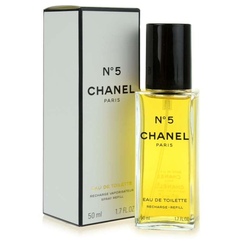 chanel n 5 eau de toilette for women 50 ml refill. Black Bedroom Furniture Sets. Home Design Ideas