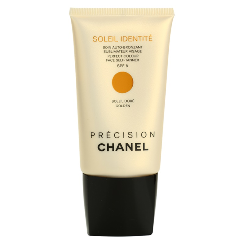 chanel pr cision soleil identit cr me auto bronzante visage spf 8. Black Bedroom Furniture Sets. Home Design Ideas