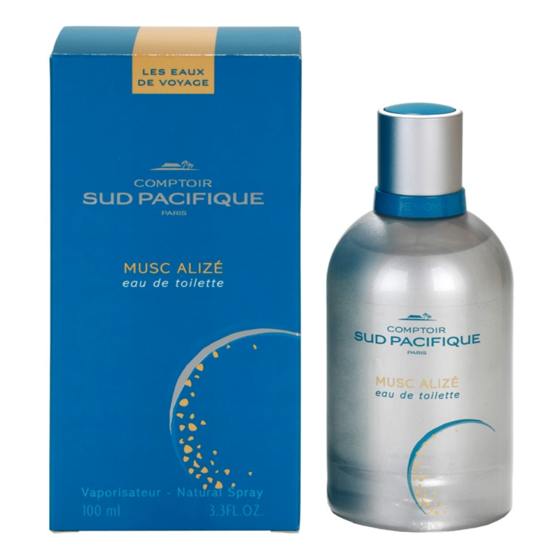 comptoir sud pacifique musc aliz 233 eau de toilette for 100 ml notino co uk