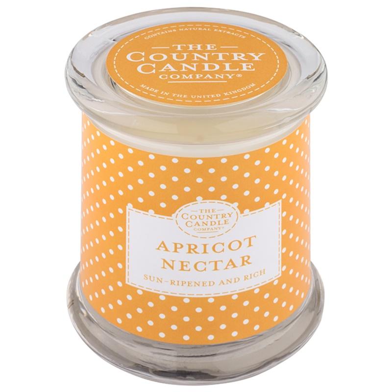country candle apricot nectar duftkerze im glas mit. Black Bedroom Furniture Sets. Home Design Ideas