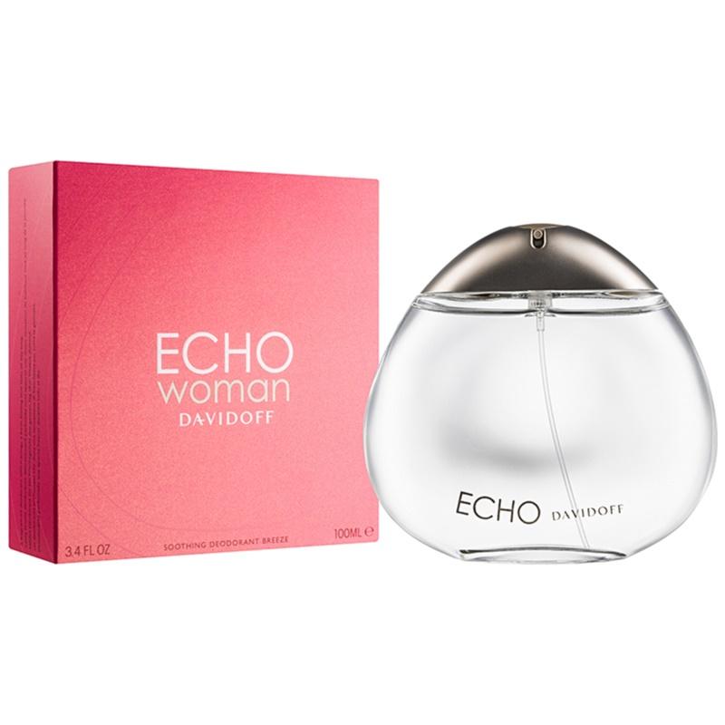 davidoff echo woman perfume deodorant for women 100 ml. Black Bedroom Furniture Sets. Home Design Ideas